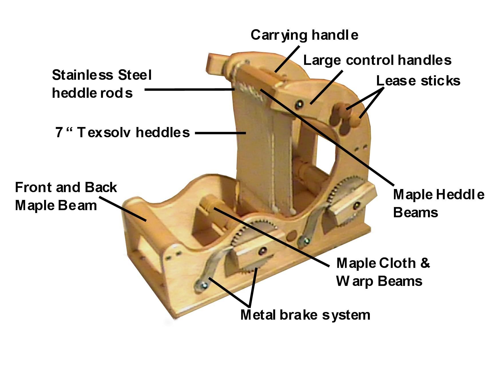 Hybrid inkle looms