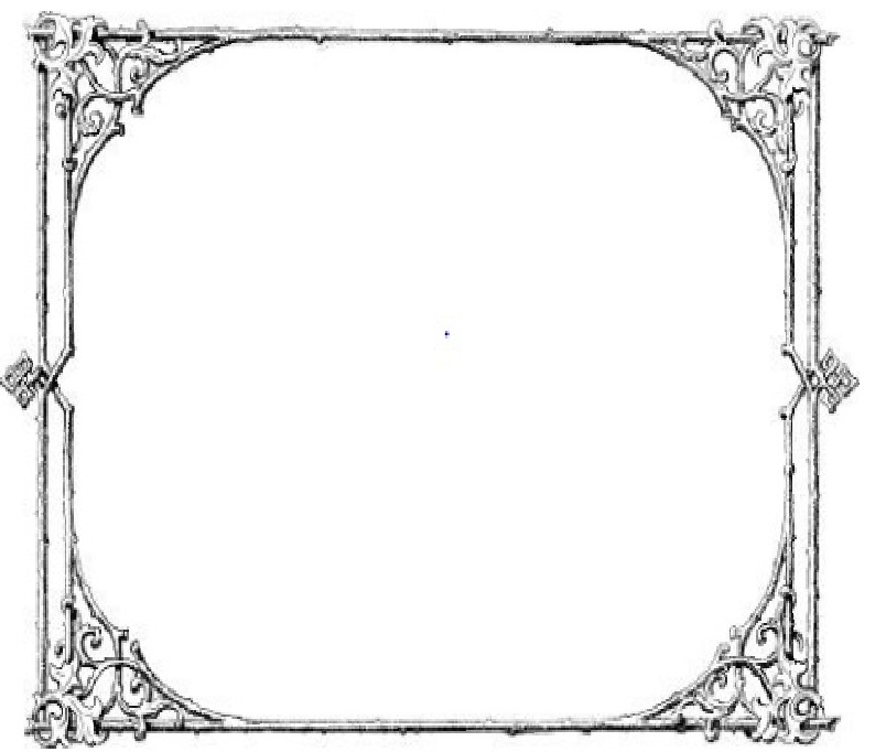 Old Fashioned Photo Frame Template Transparent
